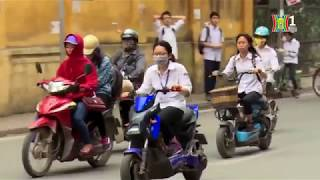 Tình trạng học sinh vi phạm luật giao thông đường bộ  Tin tức HANOITV