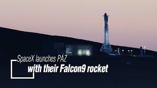 Live: SpaceX launches PAZ with their Falcon9 rocket 猎鹰9号火箭送PAZ地球观测卫星上天