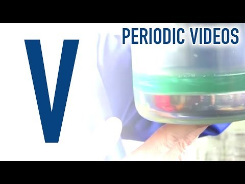 Vanadium - Periodic Table of Videos
