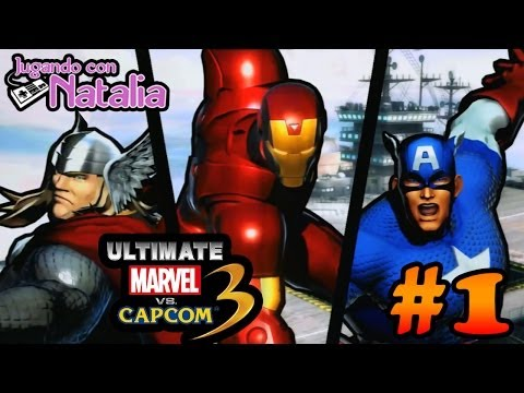 Soy IRON MAN!!! - Marvel Vs Capcom 3 #1
