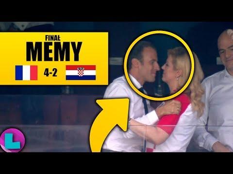 MEMY PO FINALE MISTRZOSTW ŚWIATA | Francja - Chorwacja