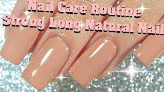 My Nail Care Routine- Strong Long Natural Nails | ImGirlYouDontKnow