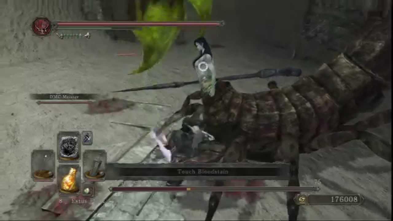Dark souls boss scorpioness najka ng youtube