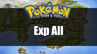 Pokemon Red/Blue/Yellow - Where to get Exp All