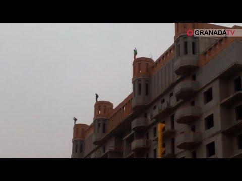В Челябинске трое смельчаков прыгнули с крыши 26-этажного дома