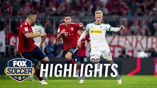 Bayern Munich vs. Monchengladbach   2018-19 Bundesliga Highlights