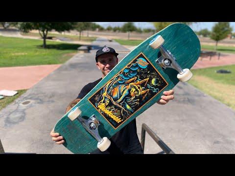 NEW WINKOWSKI 10in.SHAPE PRODUCT CHALLENGE!   Santa Cruz Skateboards
