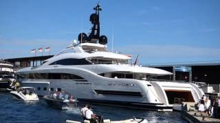 Super yachts for Billionaires Monaco Yacht show 2015  high end yacht broker news from stefan Katafai