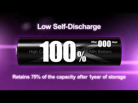 Sanyo baterias recargables