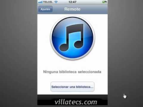 Configurar Remote para iTunes