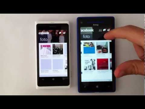 Facebook, Twitter e WhatsApp su Windows Phone 8