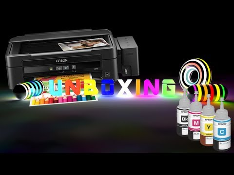 Unboxing y Review - EPSON L210 CON TANQUES DE TINTA RECARGABLES