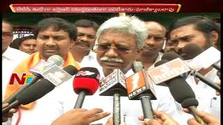 Manikyala Rao Reacts over Gali Muddu Krishnama Comments on IYR