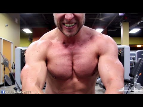 Quick and Heavy Chest Workout - 365lb Bench Press, Incline and Cross Overs | Furious Pete Image 1