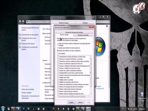 Mejorar el Rendimiento De Windows 7 Con la mejor Apariencia (HD)