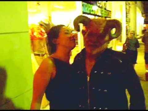 Sexy Drunk Girl Attacks Demon