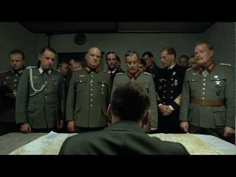 Adolf Hitler Going Crazy Actual Scene Eng Sub HD