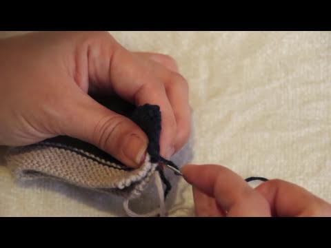 DIY Patucos deportivas dos agujas con patron gratuito