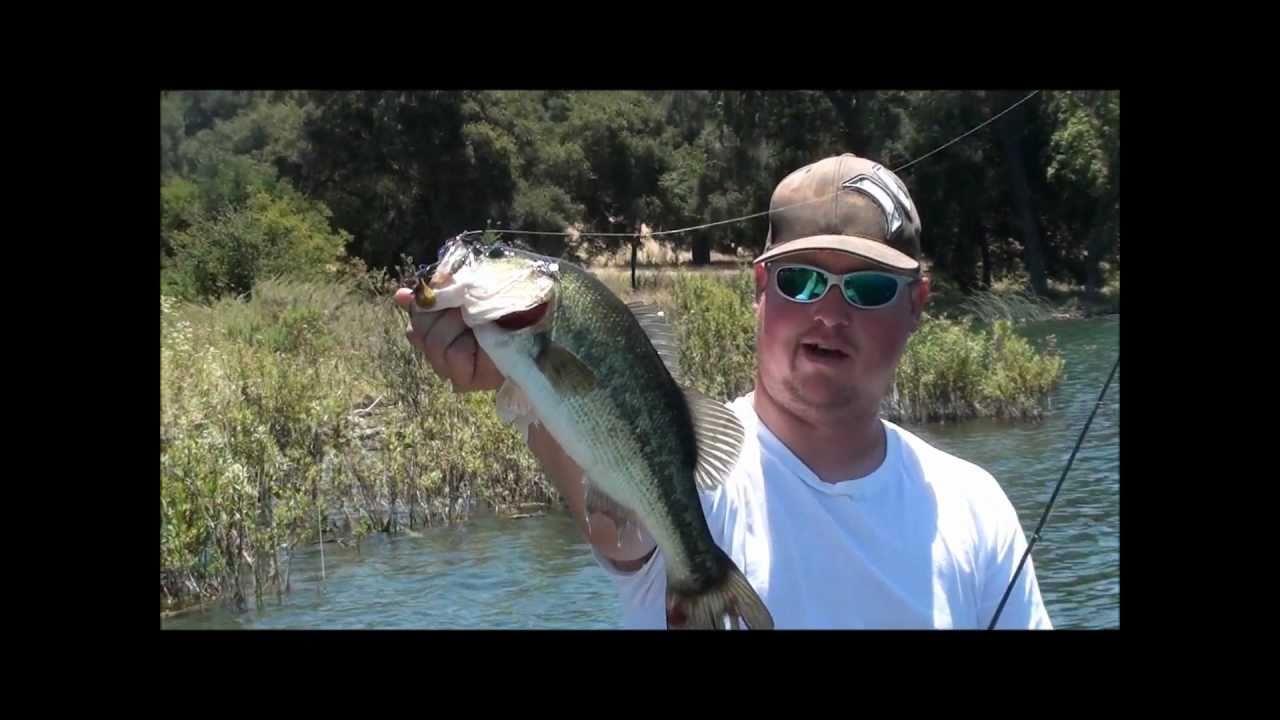 Hookedup bass fishing lake cachuma youtube for Lake cachuma fishing report