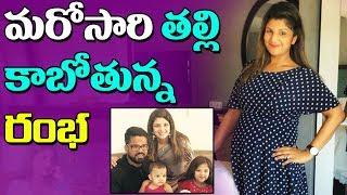 మరోసారి తల్లి కాబోతున్న రంభ  |  Actress Rambha is pregnant
