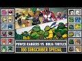 Power Rangers vs. Ninja Turtles (Pokémon SunMoon) - 100 Subscriber Special - Pokémon Crossover