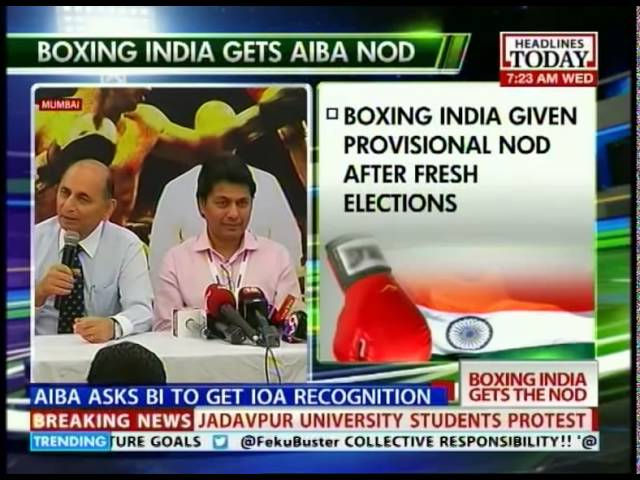 Boxing India gets provisional recognition, Indian boxers to fight under Tricolour