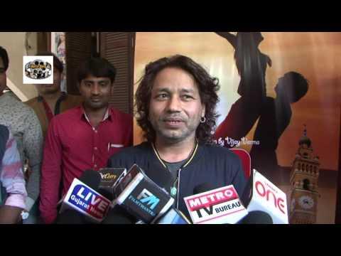 Kailash Kher At Song Recording Of Hindi Film Red Signal