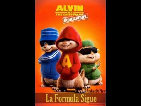 LA FORMULA SIGUE 'ALVIN Y LAS ARDILLAS'