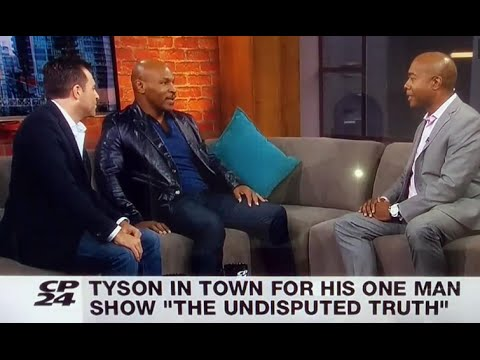 Mike Tyson Curses Out TV Host Live On Air
