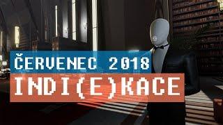 Hrej.cz Indi(e)kace - červenec 2018