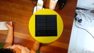 Ikea Solar Powered  table lamp