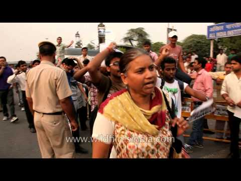 Protests in Delhi over rape of minor girl