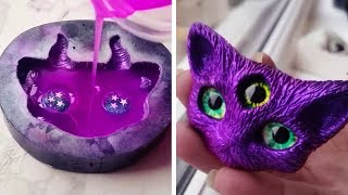 FANTASY-INSPIRED CREATIONS MADE WITH RESIN AND CLAY