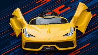 Xe Ô Tô Điện Trẻ Em Ferrari 2018 (Xe cho bé)