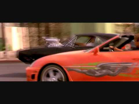 Fast and Furious 1 2 3 4 ( High Speed Chase video and lyrics fast five soundtrack )