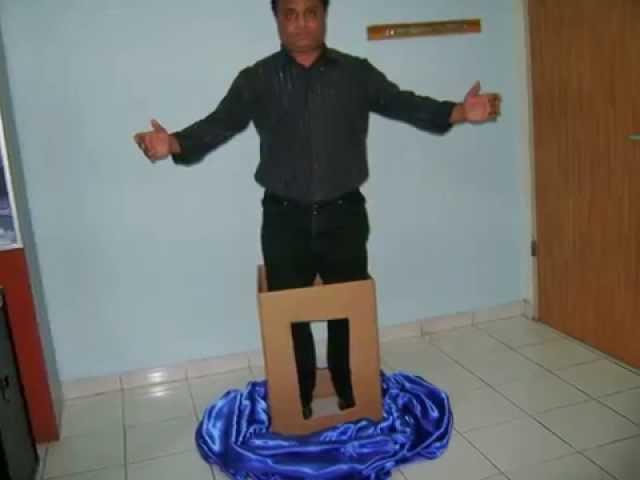 Paul Daniels levitation REVEALED