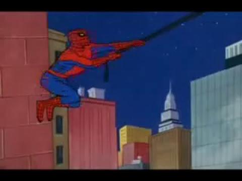 El Hombre Araña  intro esp 80s