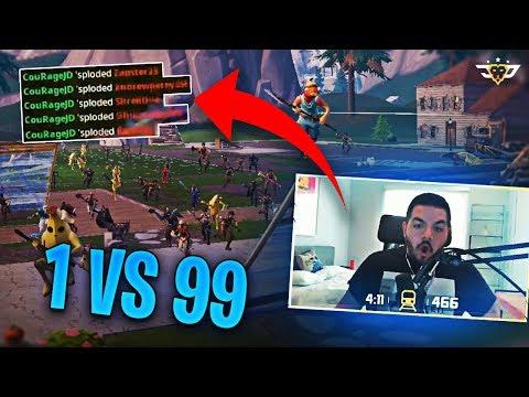 1v99! THE IMPOSSIBLE FORTNITE CHALLENGE! (Fortnite: Battle Royale)