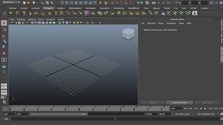 Введение в Autodesk Maya 2013 - Основные инструменты, настройки, свет, render, анимация