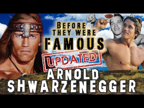 ARNOLD  SCHWARZENEGGER - Before They Were Famous - UPDATED