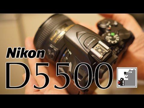Nikon D5500|Лучшая зеркалка для любителей 2015
