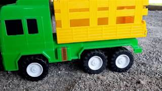 Truck, Excavator, Train, Police Cars, Garbage Trucks & Tractor Kids Construction Toy Vehicles