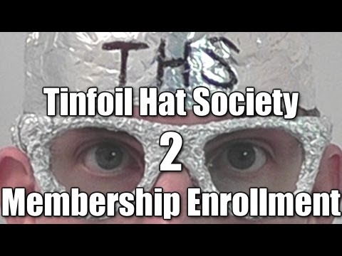 Tinfoil Hat Society: Membership Enrollment (Part 2) Interactive ASMR performance / role play
