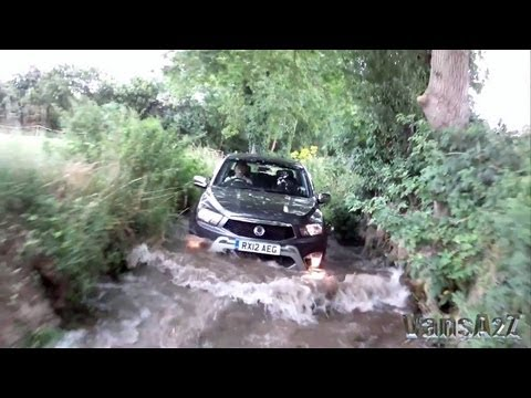 SsangYong Korando Sports 4x4 2012 - Preview