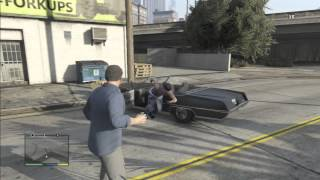 GTA 5 Flipping People Off (Giving The Middle Finger) Montage