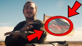 10 Things You Missed In Post Malone Psycho Ft Ty Dolla Sign Music Audio