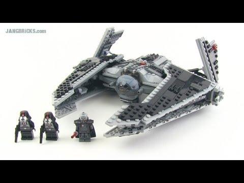 LEGO Star Wars Sith Fury Class Interceptor Review! set #9500