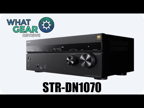 SONY STR-DN1070 - 7.1 Channel Amplifier Review