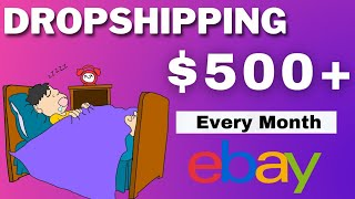 Earn $500 Per Every Month By Dropshipping | Make Money Online | No InvestMent Needed | Online Jobs