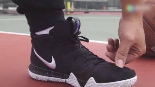 【极客鞋谈】谍照都说丑,发售抢成狗的欧文4实战到底如何?Nike Kyrie 4